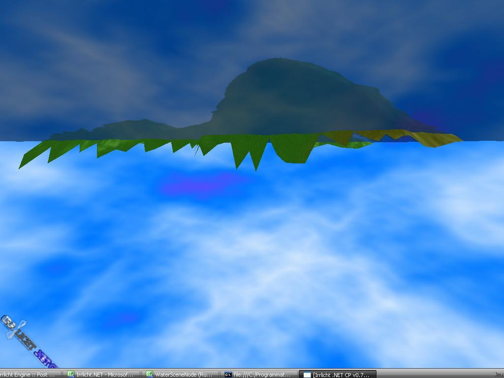 Irrlicht Engine • View topic - [C++] Reflective Water